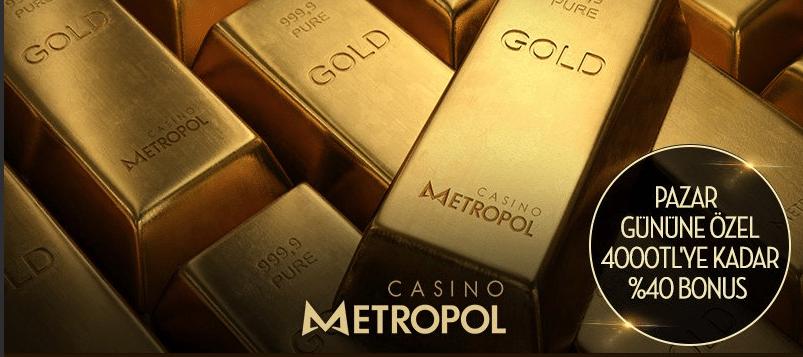 casino metropol kayip bonuslari nelerdir